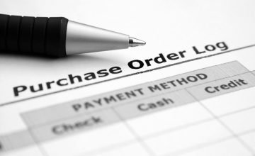 Purchase order log